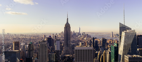 Fotografering the Empire State Building new york city