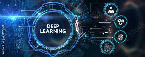 Cuadros en Lienzo Deep learning artificial intelligence neural network