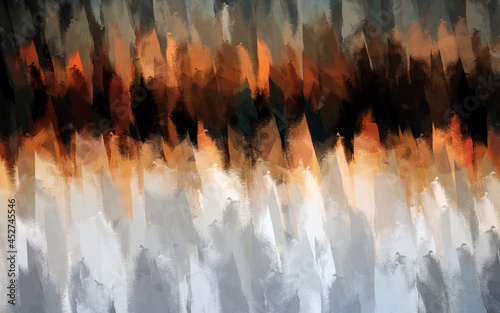 Fototapeta Abstract Art Watercolor Painting Texture Background