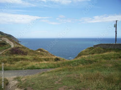 Fototapeta Bray to Greystones - Cliff walk, Bray, dublin, Ireland