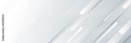 Modern abstract light silver background vector Fototapete