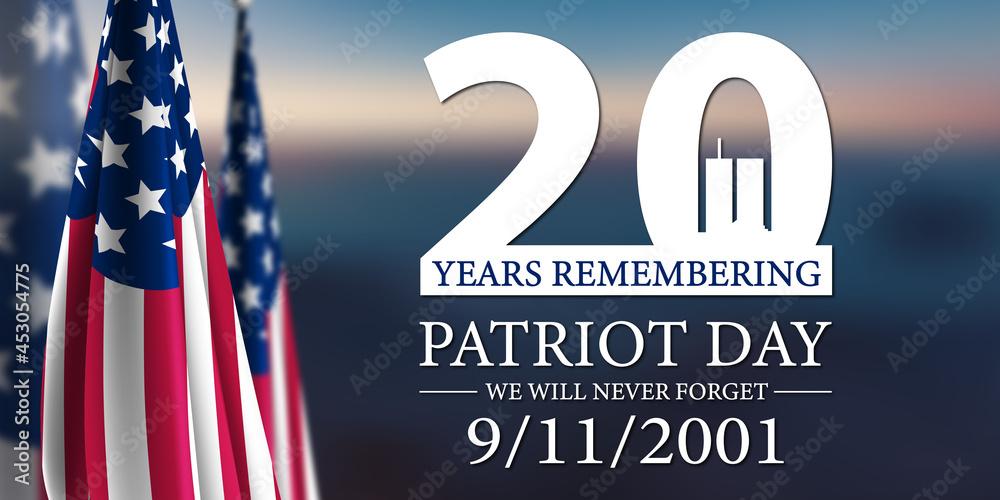 Leinwandbild Motiv - MH : Patriot Day 2021