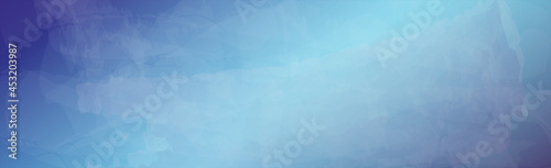 Foto Realistic light blue painted watercolor abstract background - Vector