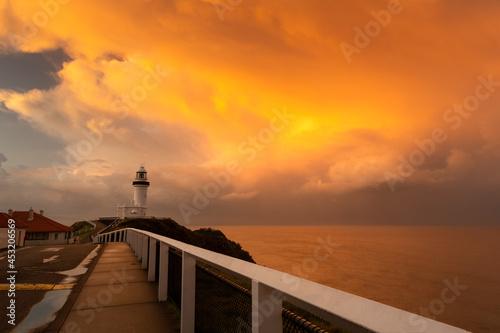 Canvas Byron Bay at sunset, Byron Bay Australia