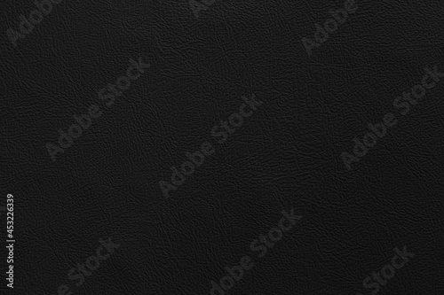 Canvas Black genuine cow leather of the sofa texture and background seamless