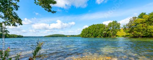 Fotografie, Obraz Czarna Hancza lake in Suwalski Landscape Park - Poland