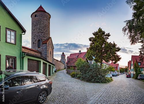 Fototapeta Cityscape of Dinkelsbuehl