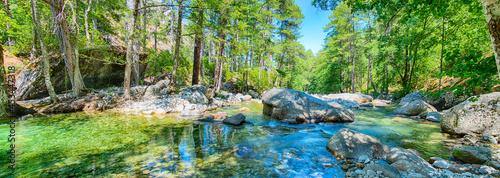 Foto Restonica Tal Korsika - Flusswandern -Corte