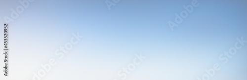 Fotografia, Obraz Clear sky at sunrise