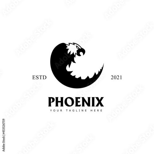 phoenix vector logo Tapéta, Fotótapéta