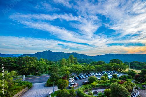 Obraz na plátne 島根県 大田市の風景