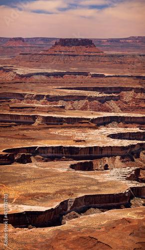 Obraz na płótnie Canyon Lands