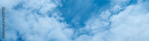 Fotografia the concept of weather observation, meteorology-the formation of clouds in the sky