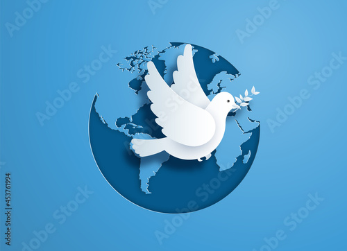 Fotomural International Peace Day.