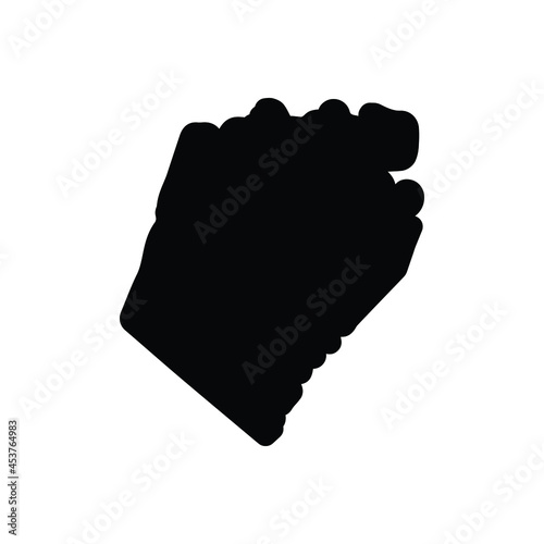Carta da parati Black solid icon for berkeley