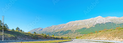 Fotografia, Obraz The Gran Sasso from the Italian highway