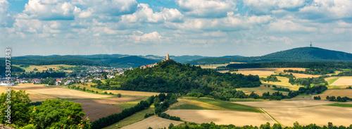 Obraz na plátně Die Burg Vetzberg in der Nähe von Giessen