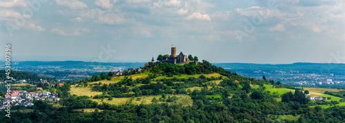 Fotografie, Obraz Die Burg Gleiberg in der Nähe von Giessen, Hessen