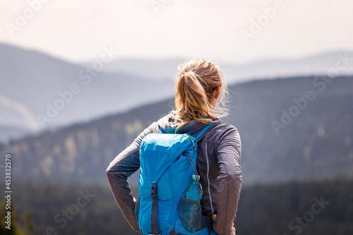 Mountain hike Fototapet