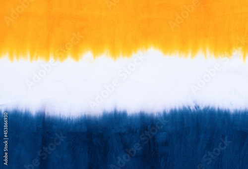 Murais de parede tie dye pattern dip dye technique on cotton fabric abstract texture background