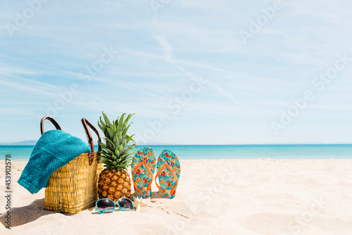 Fotografiet beach scene