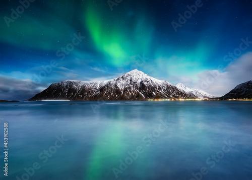Obraz na plátně Aurora Borealis