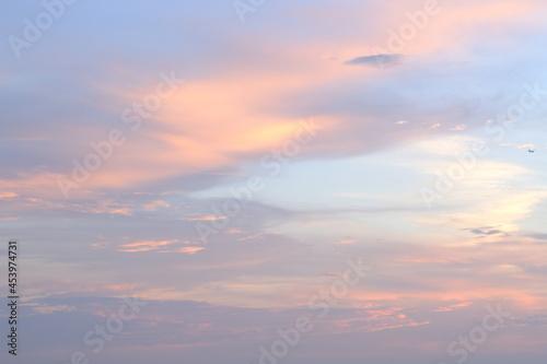 夕焼けの空 Fototapet