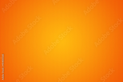 Vászonkép Abstract orange vector background with stripes