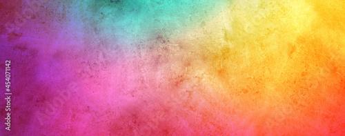 Fotografie, Obraz vibrant colorful rough contemporary background paper, vintage distressed texture