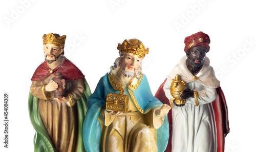 Leinwand Poster The three wise men
