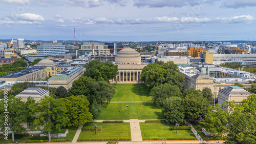 Photo Boston Massachusetts Institute of Technology campus - Boston, USA