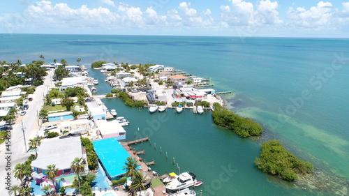 Fotografering Drone View of Conch Key Marathon Florida