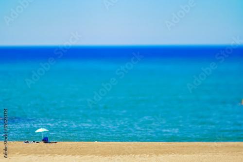 Obraz na plátně 青空と海