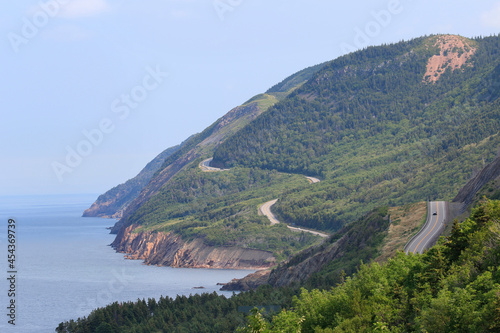 Photo Cabot Trail in Cape Breton Island, Nova Scotia