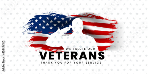 Foto Veterans day poster