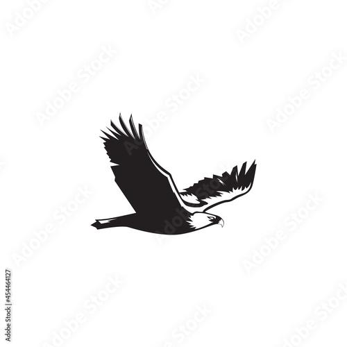 FLYING EAGLE LOGO VECTOR SYMBOL ILUSTRATION  LOGO DESIGN Fototapeta