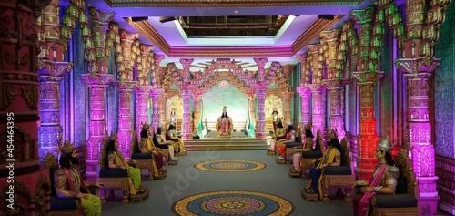 Fotografiet Mahabharat Rajya Sabha