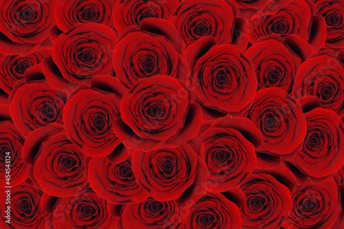 Bukiet róż. Tapeta