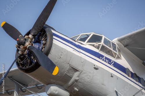 Fotografia Airplane Propeller Window Sky Flying Pilot