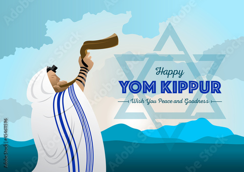 Fotografia Yom Kippur Celebration