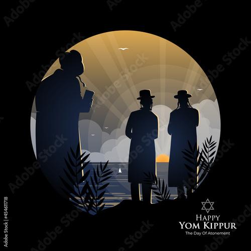 Fototapeta Yom Kippur Celebration Concept