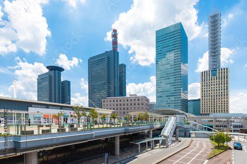 Foto さいたま新都心駅前の風景