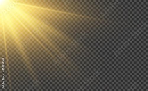 Fotografie, Obraz Sunlight realistic effect