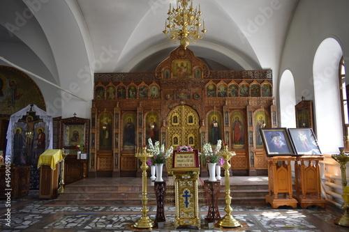 altarpiece in the orthodox church Fototapete