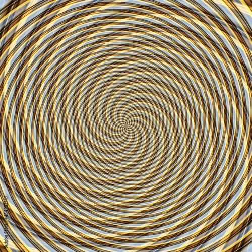Fotografija Abstract background illusion hypnotic illustration, delusion attractive