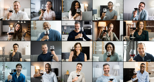Canvastavla Virtual Wine Taste Video Conference Call