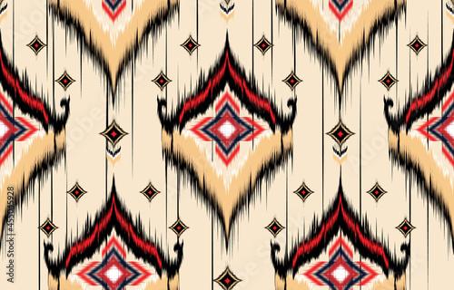 Tablou Canvas Ikat geometric folklore ornament