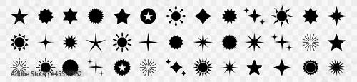 Fotografie, Obraz Star icons set
