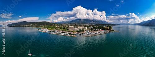 Fotografie, Obraz Port du Lac du Bourget