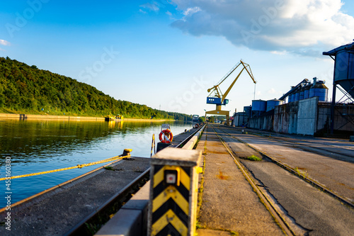 Fotografering Landscape Photo Abends Hafen